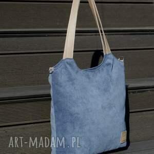 torebka torebki lekka i poręczna granatowa torba