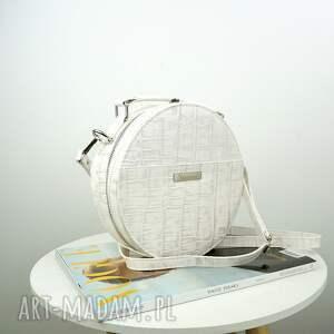 niepowtarzalne torebki torebka listonoszka w kształcie koła