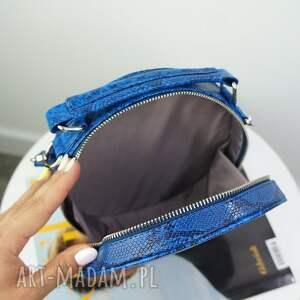 ręczne wykonanie torebki manzana listonoszka w kształcie koła