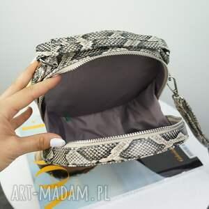 modne torebki torebka listonoszka w kształcie koła