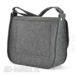torebki ramię listoszka z filcu - torebka