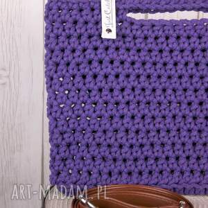 torebki: looped śliwka - sznurek