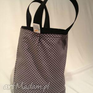 dd3f2f2c01119 szare torebki śniadaniówka lunchbag by wkml klasyka na szaro