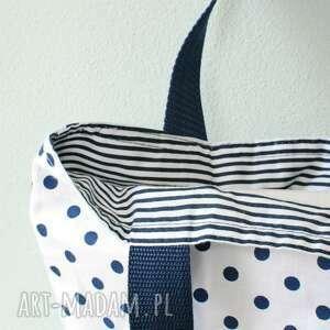 niebieskie torebki śniadanie lunchbag by wkml marina