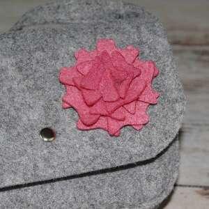 Etoi design - filc różowy