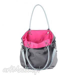 różowe torebki szary mana mysza light blue