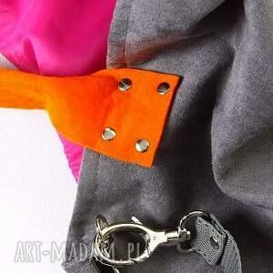 różowe torebki ramię mana mysza orange