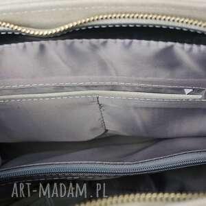 damska torebki manzana duża torebka kuferek trapez