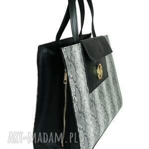 unikatowe torebki manzana duża torba miejski styl xxl