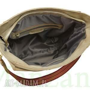niesztampowe torebki manzana duży kuferek zamszowy etno