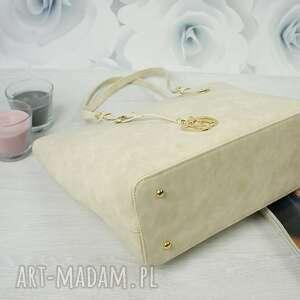 złote torebki torba manzana klasyczna miejski