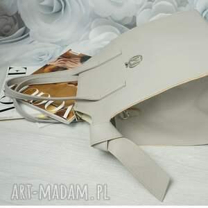 torebki torba manzana kuferek xxl z wiązaniami po
