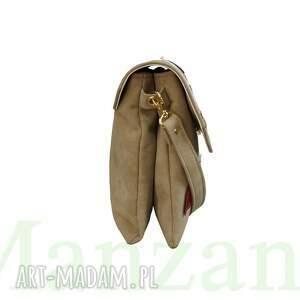 torebki listonoszka manzana z naszywkami