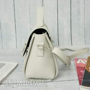 torebka torebki białe manzana listonoszka kuferek