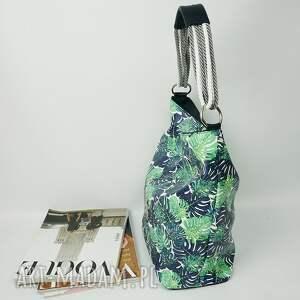 torebka torebki czarne manzana worek palmy