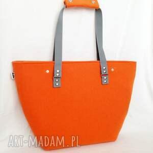 efektowne torebki duża nowość!!! officefelt - torba