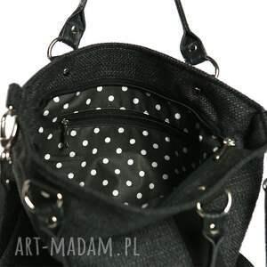 czarne torebki szara opis tote classic black czarny