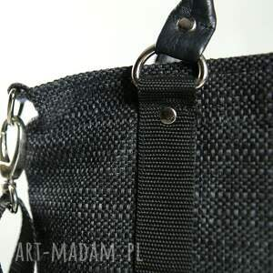torebki torba opis tote classic black czarny