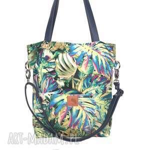 ręczne wykonanie torebki letnia oryginalna torba w tropikalne