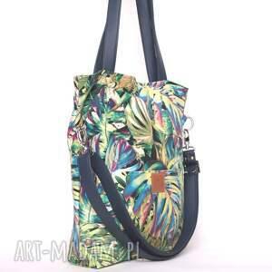 pojemna torebki oryginalna torba w tropikalne