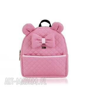 intrygujące torebki plecaczek farbiś z kokardką 1031