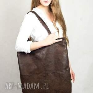 niepowtarzalne torebki duża prostokątna torba w kolorze