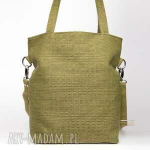ręcznie zrobione torebki gruba prostokątna torba na ramię a4