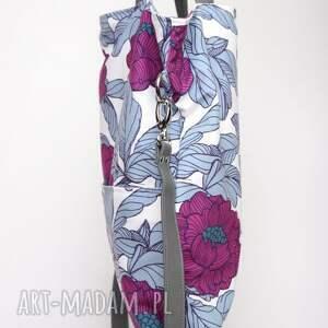 ręcznie zrobione torebki kwiaty prostokątna torebka w piękny