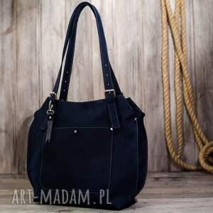 modne torebki worek ręcznie robiona skórzana torebka