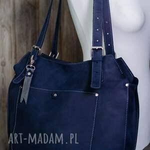 torebki worek ręcznie robiona skórzana torebka