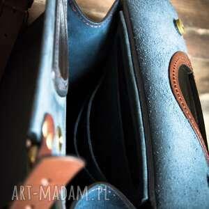 ręcznie zrobione torebki skórzana torebka ladybuq wykonana torba