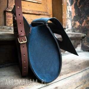 ręcznie zrobione torebki torba do ręki wykonana skórzana