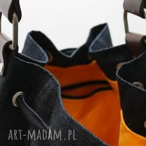 rudy torebki pomarańczowe wór:)