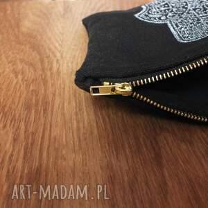 solidna torebki saszetka organizer piórnik black