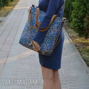 ręcznie robione torebki shopper bag