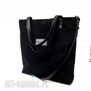 czarne torebki czarna shopper bag