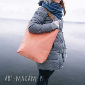 ręczne wykonanie torebki shopper bag