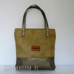beżowe torebki musthave shopper bag