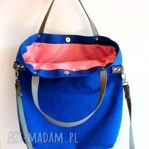 turkusowe torebki chabrowa simple bag
