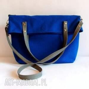bag torebki niebieskie simple