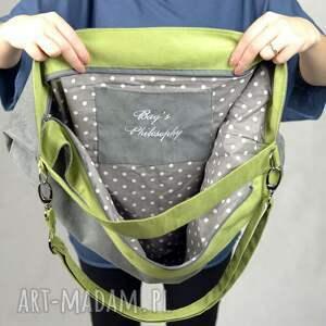 zielone torebki torebka szara zamszowa torba w kształcie