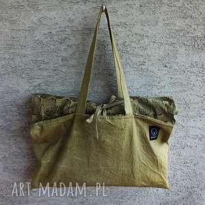 zielone torebki wege torba metamorfoza hmasa