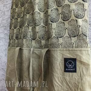 oliwkowa torebki torba metamorfoza hmasa