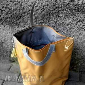 szare torebki torebka torba neon musztarda