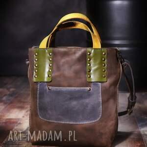 ręcznie wykonane torebki torba skórzana damska