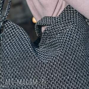 handmade torebki torebka torba w kolorze melanżowym z grubo