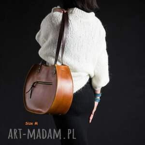 Ladybuq Art Studio torebki: torebka Basia duża pojemna wygodna nietypowa idealna piekna z zamkiem ręcznie