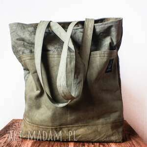 atrakcyjne torebki pomysł torebka canvas khaki