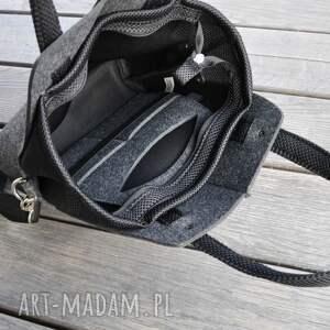 atrakcyjne torebki filc torebka filcowa wąska -