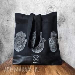 hand-made torebki rękodzieło torebka hamsa